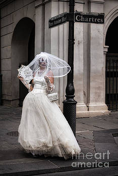 The Bride of Jackson Square by Jerry Fornarotto