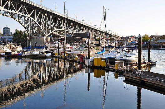 The Bridge and Marina by Caroline Reyes-Loughrey