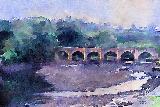 The Bridge At Buncrana by Declan O'Doherty