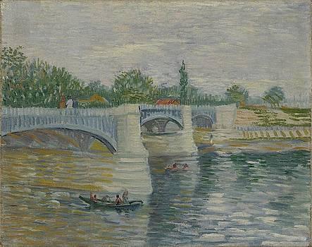 The Bridge at Courbevoie Paris, May - July 1887 Vincent van Gogh 1853  1890 by Artistic Panda