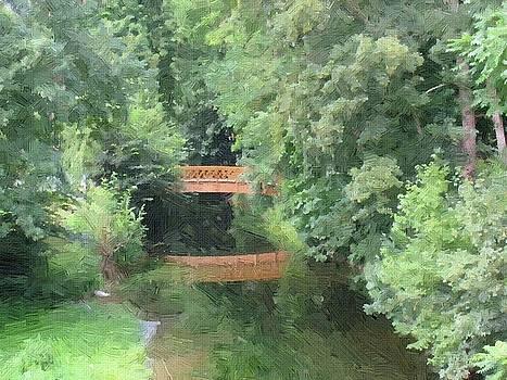 The Bridge Into Jungle by Subesh Gupta