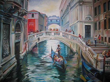 The Bridge of Sighs by Ekaterina Pozdniakova