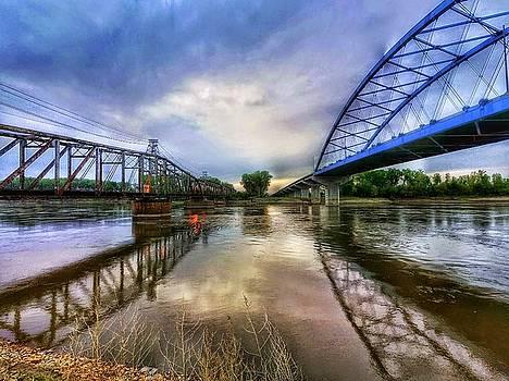 the bridges over Missouri river. by Dustin Soph