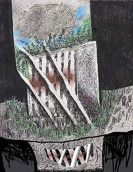 The Broken Garden Gate 11 by Al Goldfarb