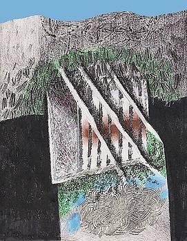 The Broken Garden Gate by Al Goldfarb