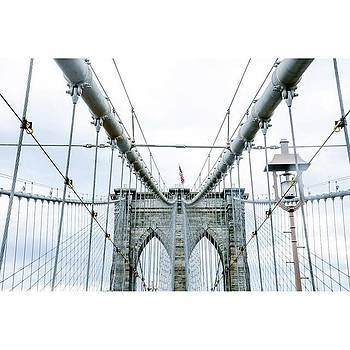 The Brooklyn Bridge !  #nyc #vsco by Shivendra Singh