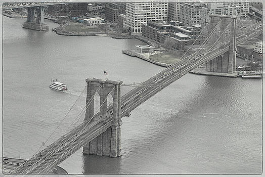 The Brooklyn Bridge From Above by Dyle Warren