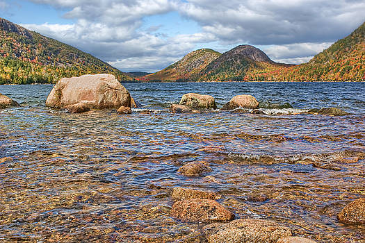 Nikolyn McDonald - The Bubbles - 2 - Jordan Pond - Acadia National Park