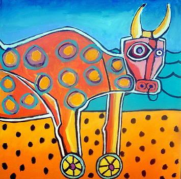 The Bull Of Taganga by Robert Catapano