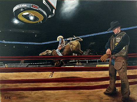 The Bull Rider by Rick Fitzsimons