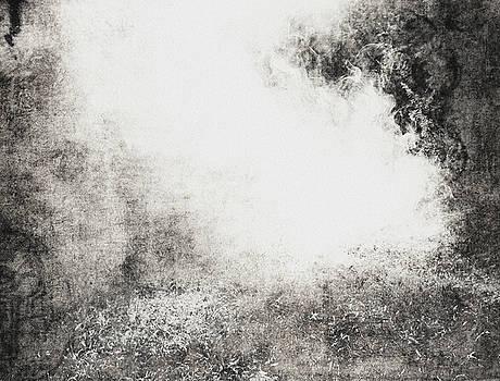 The burning bush by Vladas Orzekauskas