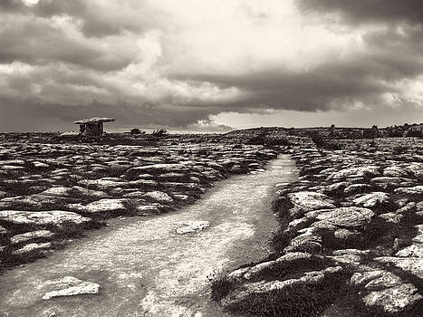 The Burren Ireland with Poulnabrone Dolmen by Menega Sabidussi