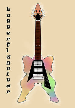 The Butterfly Guitar by Khajohnpan Sauychalad