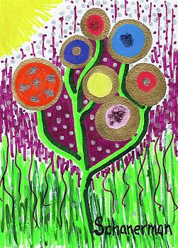 The Button Ball Tree by Susan Schanerman