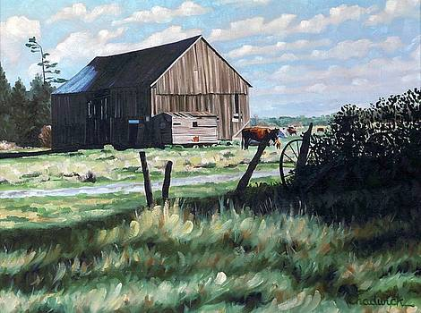 The Byrns Barn by Phil Chadwick