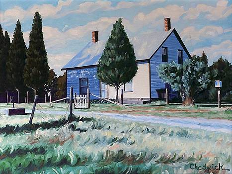 The Byrns Homestead by Phil Chadwick