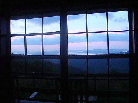 The Cabin Window by Chris Cane