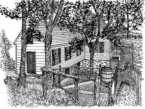 The Cabinetmaker's Shop Path  by Dawn Boyer