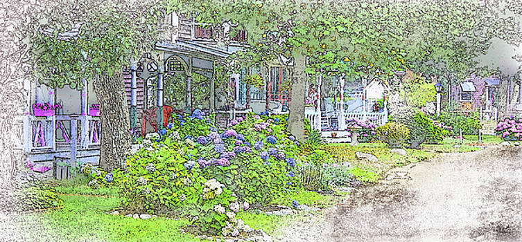 The Campground-Martha's Vineyard by William Sargent