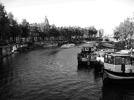 The Canals of Amsterdam by Zachary Baty