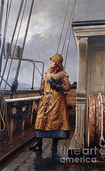 The captains wife by Carl Sundt-Hansen