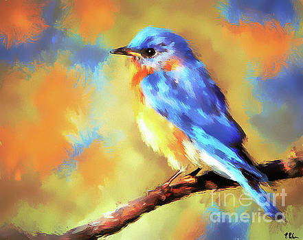 The Captivating Bluebird by Tina LeCour