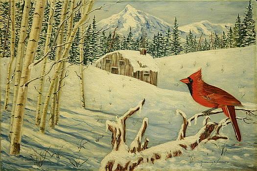 The Cardinal by Rosencruz  Sumera