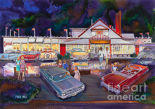The Carnival Portland Oregon by Mike Hill