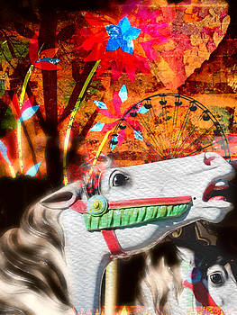 The Carousel Horse by Linda Ouellette