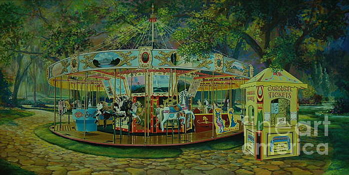 The Carousel by Michael Nowak