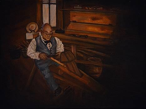 The Carpenter by Regina Brandt