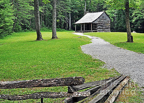 The Carter Shields Cabin by Lydia Holly