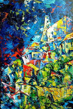 The Castle by Keren Gorzhaltsan