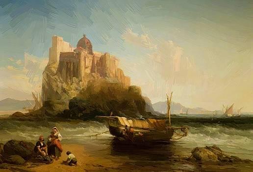 Webb James - The Castle Of Ischia 1866