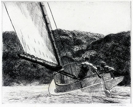 Edward Hopper - The Cat Boat