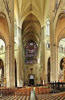 The Cathedral of Our Lady of Amiens  by Hans Kool