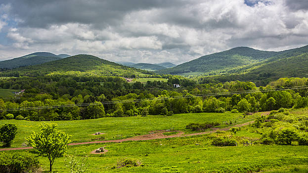 The Catskill Mountains by Paula Porterfield-Izzo