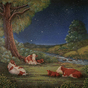 The Cattle are Lowing by Teresa Frazier