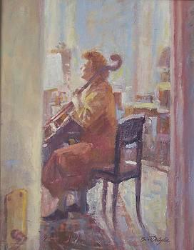 The cellist. by Bart DeCeglie
