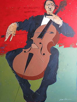 The Cellist by Bert Seabourn