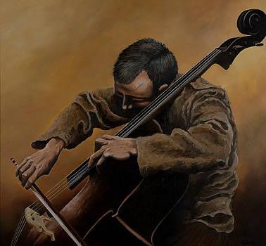 The Cellist by Caleb  Hamm