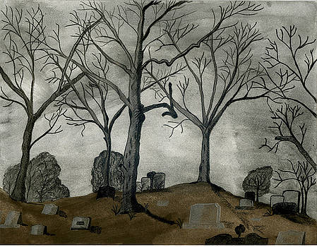 The Cemetary by MJ Sadler