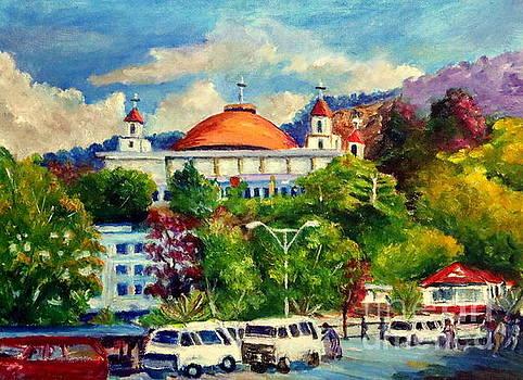 The Central Taxi Terminal in Jayapura by Jason Sentuf
