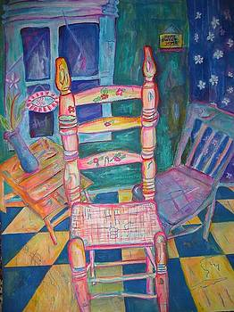 The Chair 2 by Marlene Robbins