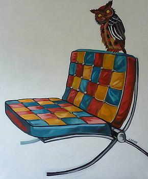 The chair by Carmen Stanescu Kutzelnig