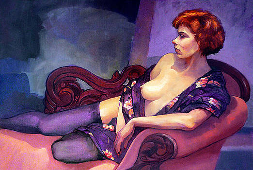 The Chaise Longue by Roz McQuillan