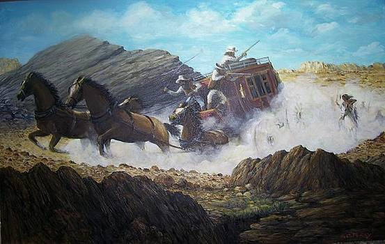 The Chase by Perrys Fine Art