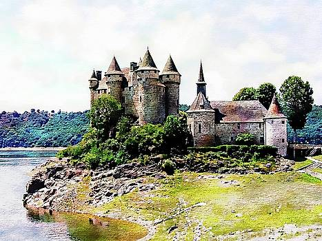 The Chateau De Val by Joseph Hendrix