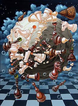 The Chess planetoid of Eynstein by Victor Molev