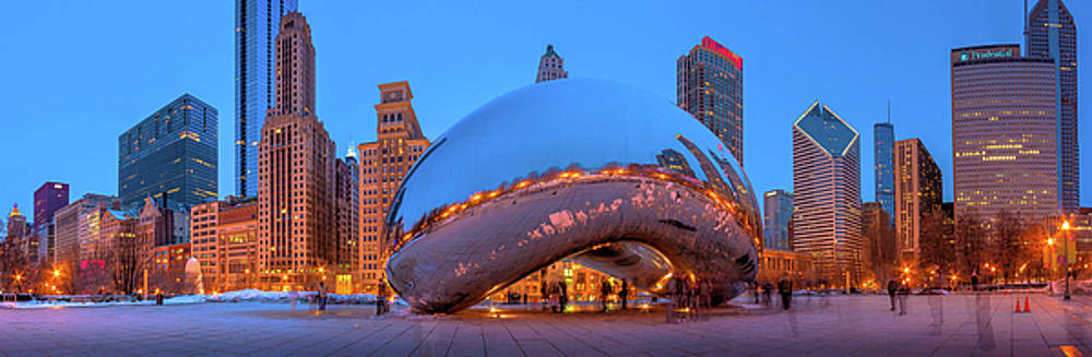 The Chicago Bean by Yves Keroack